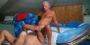 hombres maduros follando