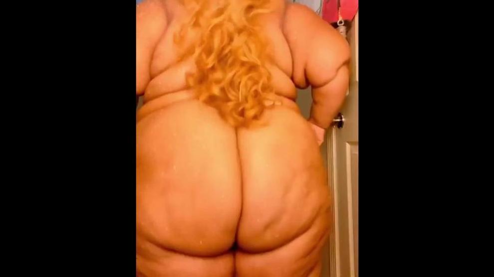 Ebony SSBBW from Instagram with GIGANTIC ass