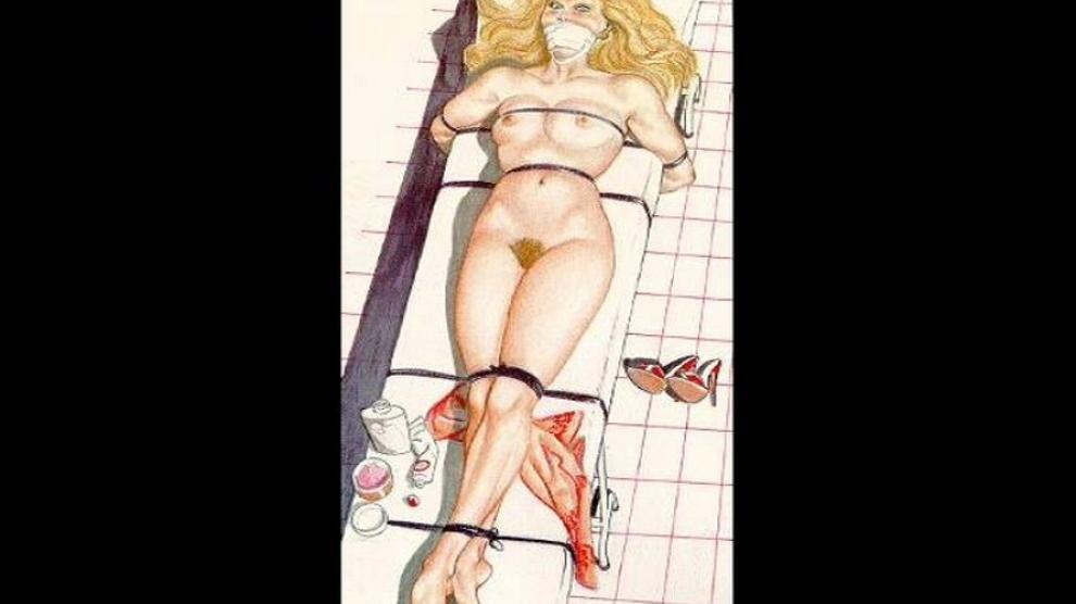 Rope Bondage Sex Artwork
