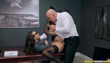 Reality Kings - Office Princess (J Mac, Lana Mars) TNAFlix Porn Videos