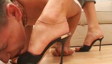 Mistress foot worship Underfeet Slave Worship Mistress Feet Ass Get Trampled Tnaflix Porn Videos