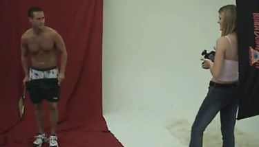 CFNM - Shy Man Has to Strip Naked for Female Photographer TNAFlix ...