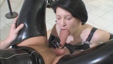 German Latex Porn