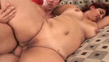Doing anal girls fat Porno Lunch