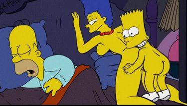 Simpsons nude