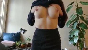 Tits cum on Cum on