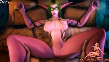 Demon cock hunters - Warcraft TNAFlix Porn Videos