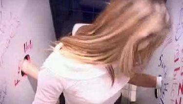 Rave Glory Hole Blond girl