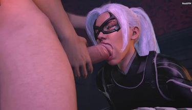 Black cat porno