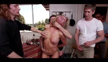 Damn sexy MILF enjoys hard GB fuck (Simone Sonay) TNAFlix Porn Videos