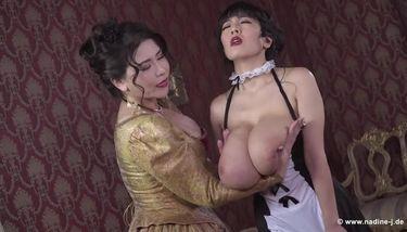 With big boobs lesbians Big Boobs