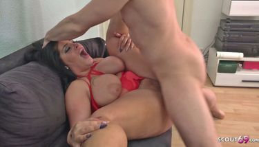 SCOUT69 - GERMAN SCOUT - Fat Teen Ashley Rough Fuck at Street ...