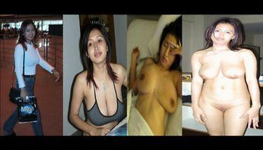 Undressed amateur dressed Dressed Undressed