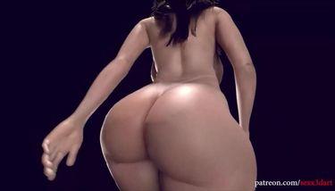 3D Big Booty Walking (Booty Ass) TNAFlix Porn Videos