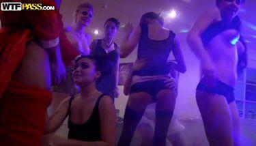 Russian New Year's College Orgy w/ Krystal Boyd, Kitana A. Demida ...