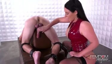 Femdom and CBT with Angela White TNAFlix Porn Videos