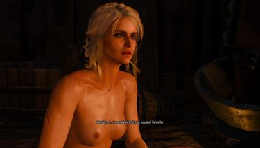 Nude witcher 3 ciri The Witcher