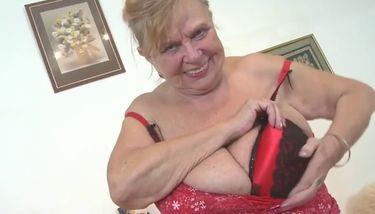 Pics granny big boobs Mature Big