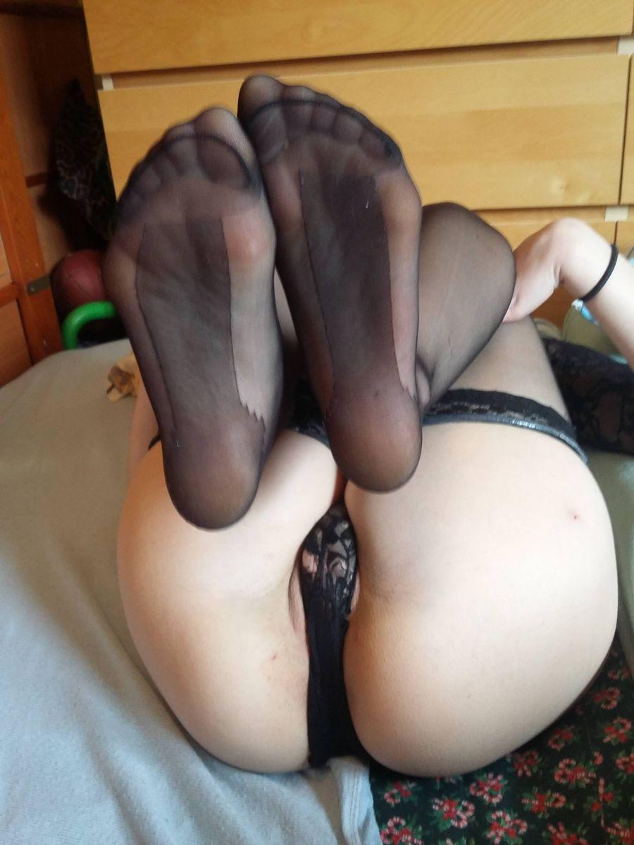 Feets nylon Nylon Feet